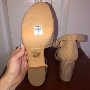 Express Shoes - Express high heel sandals